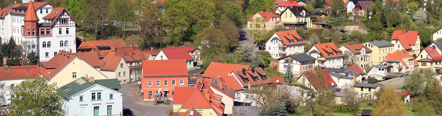 Über den Dächern von Buckow (Märkische Schweiz) 2