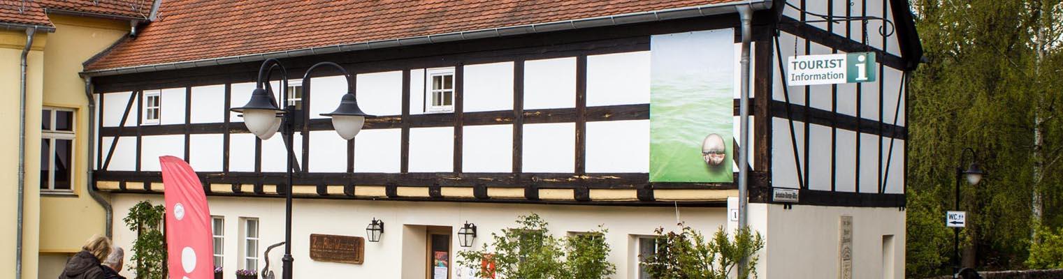 Die Touristinformation der Stadt Buckow (Märkische Schweiz)