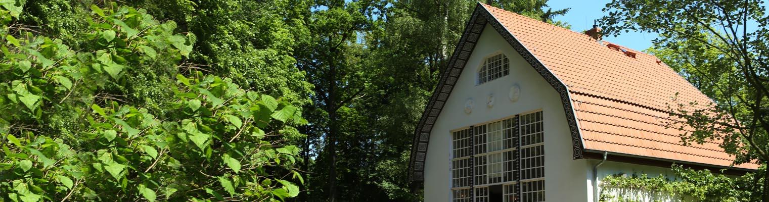 Das Brecht-Weigel-Haus in Buckow (Märkische Schweiz)