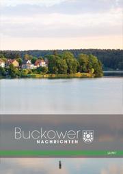 Buckower Nachrichten Juli 2017