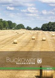 Buckower Nachrichten August 2018