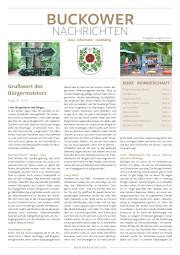 Buckower Nachrichten August 2021