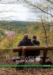 Buckower Nachrichten November 2017