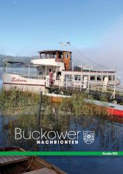 Buckower Nachrichten November 2020